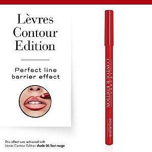 Lévres Contour Edition Bourjois - Contorno Labial - Tout Rouge 06