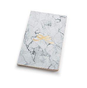 Caderno marmore rosé em branco