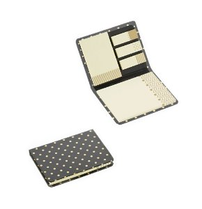 Kit Sticky Notes Black Gold
