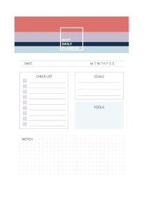 Bloco Planner TO DO Allegro A5