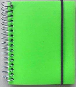 Caderno PP Splash Verde