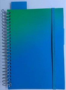 Planner Neon Azul Wire A5