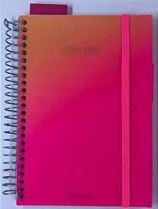 Planner Neon Pink Wire A5