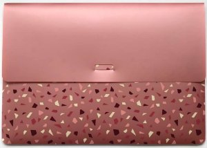 Pasta A4 Envelope Rose Gold