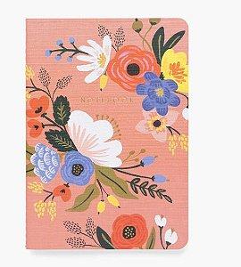Caderno Flexível Rose Fleur