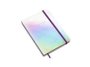 Caderneta Holográfica Pautada 14 x 21