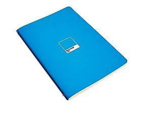 Caderno Revista Flex Pantone Cyan