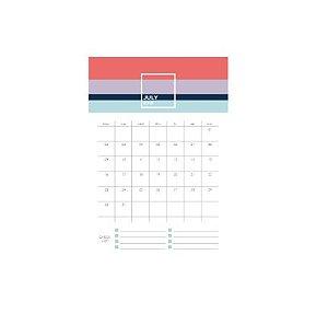 Bloco Calendário 2020 Allegro A5