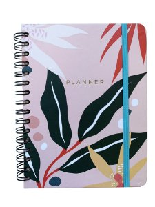 Planner Semanal Rosa Polen A5