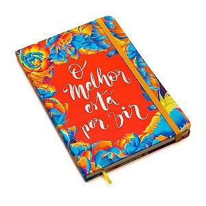 Caderneta O Melhor está por vir Pautado