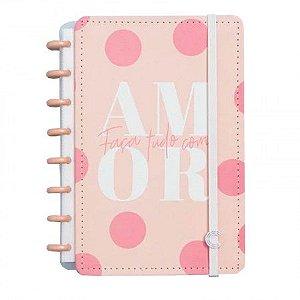 Caderno Inteligente Cor de Rosa Grande
