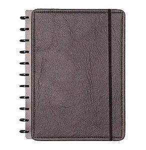 Caderno Inteligente Black Couro Ecológico Grande