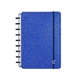Caderno Inteligente Glitter Blue Grande