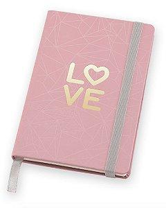 Caderneta Pink Stone LOVE Pocket Pautada