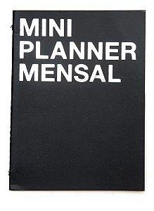 Planner Na Medida Mini Preto A6