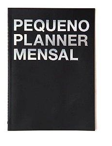 Planner Na Medida Preto Pequeno A5