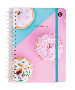 Caderno Perfeito Sweet Donuts Pontado