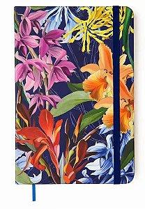Caderneta Floral Hype Pontado Maite Lacerda