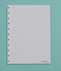 Refil Pautado Grande 90 g Caderno Inteligente