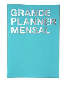 Planner Na Medida Azul Grande A3