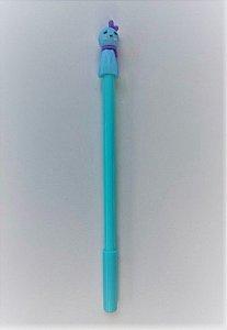 Caneta Cute Azul Turquesa