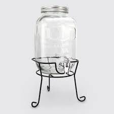 Suqueira / Dispenser de Bebidas Retro 4 Litros com Suporte - Clink