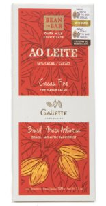 Gallette - Bean to Bar 56% - Dark Milk (100g)