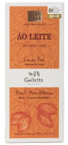 Gallette - Bean to Bar 40% - Ao Leite (100g)