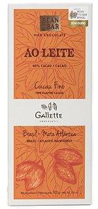 Gallette - Bean to Bar 40% - Ao Leite (100g)