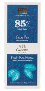 Gallette - Bean to Bar 85% - Xingu (100g)