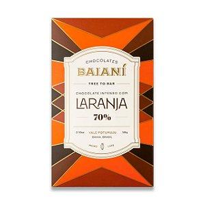 Baianí Tree to Bar - 70% Raspas de Laranja (58g)