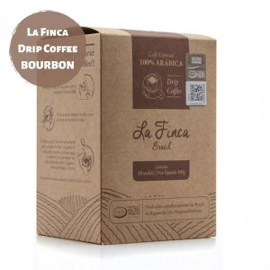 La Finca Drip Coffee - Bourbon (Caixa)