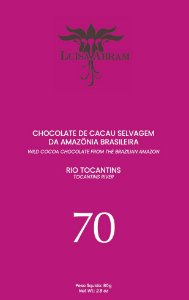 Luisa Abram - Rio Tocantins 70% Cacau (80g)