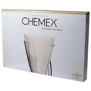 Filtro Meia Lua de Papel - Chemex (100 un)
