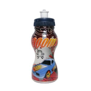 Garrafinha Squeeze Infantil com Personagem Hot wells Zoom- 250ml