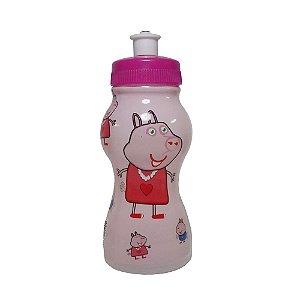 Garrafinha Squeeze Infantil com Personagem Peppa - 250ml