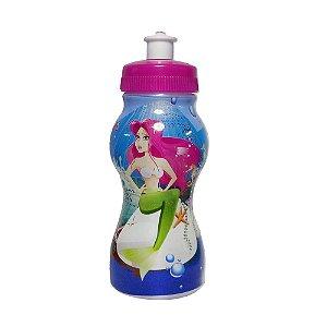 Garrafinha Squeeze Infantil com Personagem Pequena Sereia - 250ml