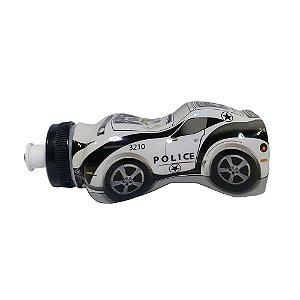 Garrafinha Squeeze Infantil Carrinho de Policia - 370ml