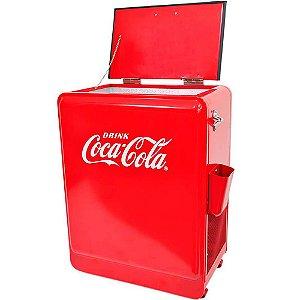 Cooler de Bebidas Coca-Cola em Metal 88cm