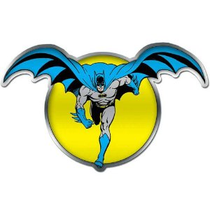 Placa Decorativa Batman And The Moon 45x28cm