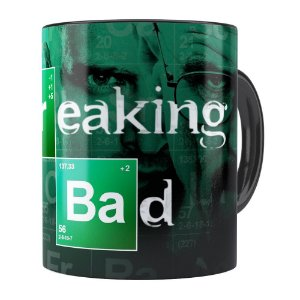 Caneca Breaking Bad v04 Preta