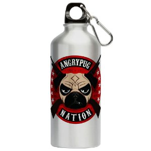 Squeeze Angry Pug Nation 500ml Aluminio