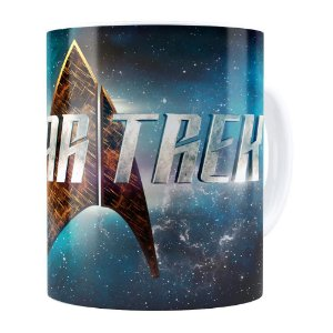 Caneca Star Trek Series Branca