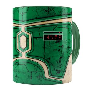 Caneca Star Wars Boba Fett v02 Corpo Verde Escuro