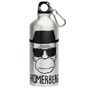 Squeeze Breaking Bad Homerberg Simpson 500ml Aluminio