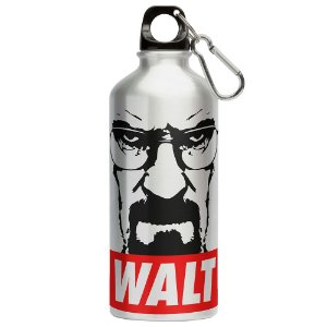Squeeze Breaking Bad Walt 500ml Aluminio