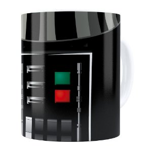 Caneca Star Wars Darth Vader v03 Branca