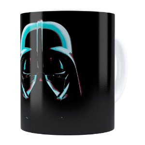 Caneca Star Wars Darth Vader v04 Branca