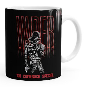 Caneca Star Wars Darth Vader Pop Star Branca