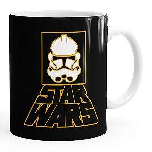 Caneca Star Wars StormTrooper Logo v01 Branca